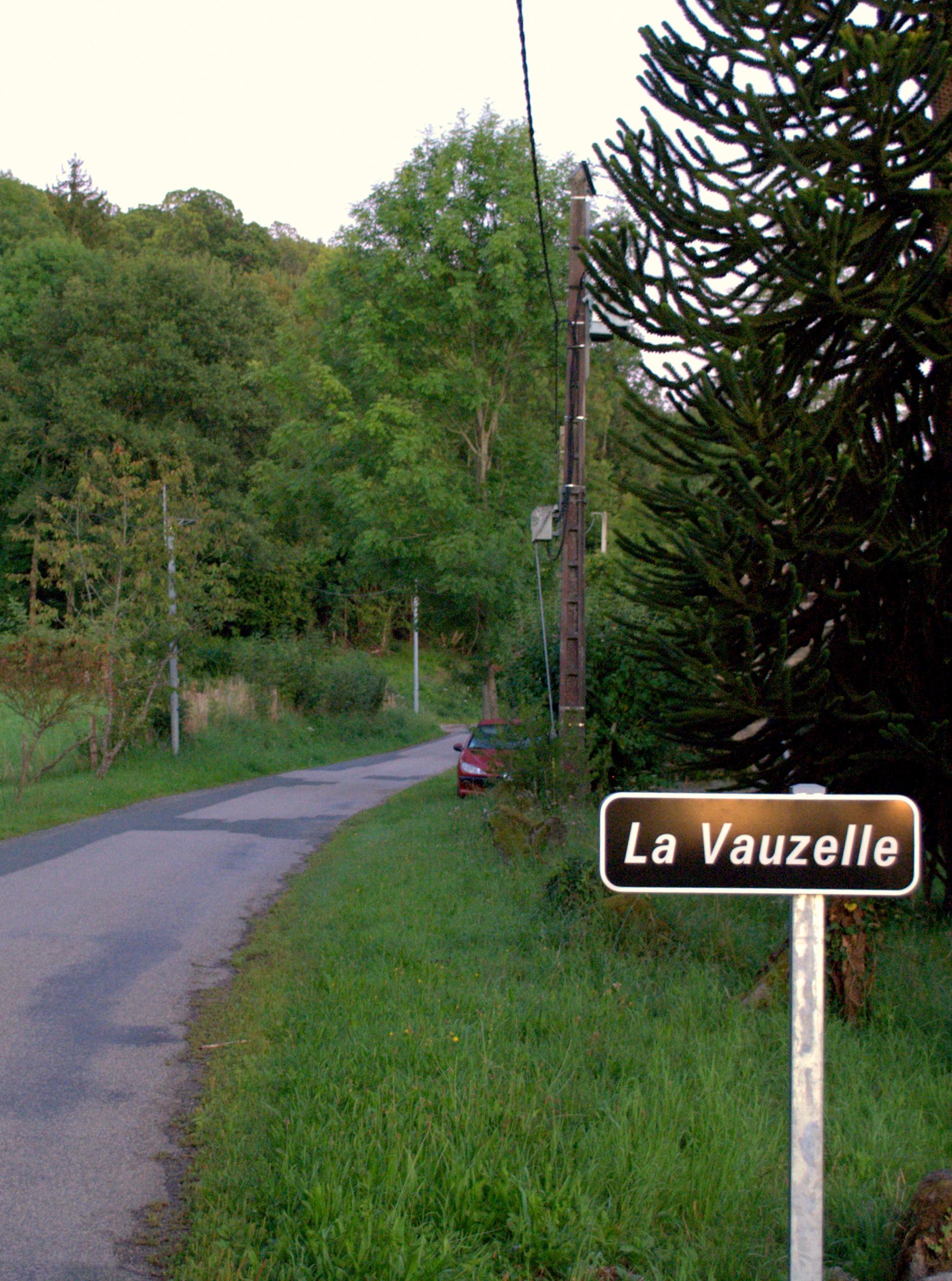 Arrivée à La Vauzelle