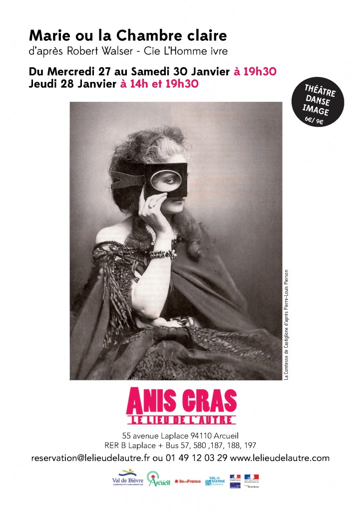Affiche Marie Ch claire